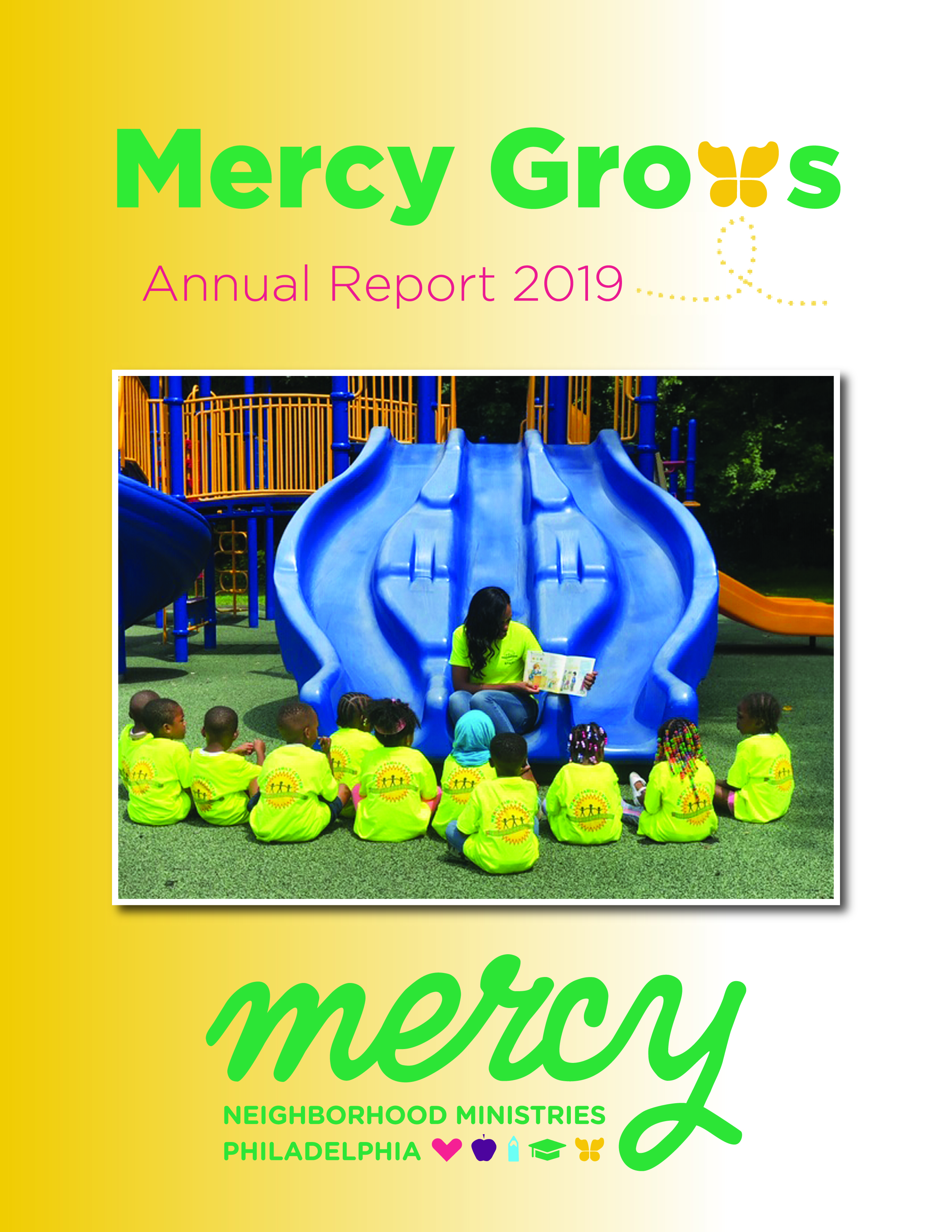 Mercy Grows 2019 Annual Report